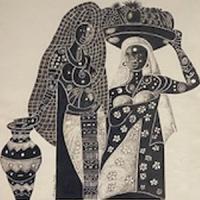 Exposició Makha Diop al CRAI Biblioteca de Filosofia, Geografia i Història