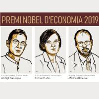Premi Nobel d'Economia 2019. Exposició al CRAI Biblioteca d'Economia i Empres