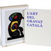 Donatiu del valuós volum l'Art del gravat català al CRAI de la UB