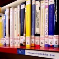 onació del fons documental de l'Observatori de Bioètica i Dret al CRAI Biblioteca de Dret
