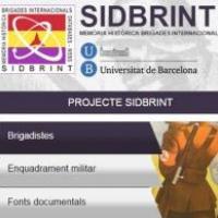 Presentació a l'Aula Magna de la Universitat de Barcelona del portal SIDBRINT
