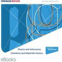 Springer Nature eBook collections: Physics & Astronomy i Chemistry & Materials Science. Nova subscripció