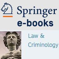 Nova col·lecció de llibres electrònics: SpringerLink eBooks Law and Criminology