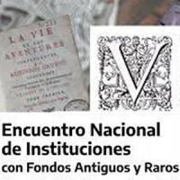 Participació del CRAI Biblioteca de Reserva al V Encuentro Nacional de Instituciones con Fondos Antiguos y Raros