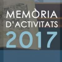 Publicada la Memòria d'Activitats 2017 del CRAI de la Universitat de Barcelona
