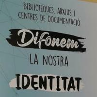 El CRAI Biblioteca d'Informació i Mitjans Audiovisuals a l'exposició Difonem la nostra identitat
