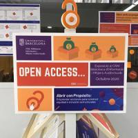 El CRAI Biblioteca d'Informació i Mitjans Audiovisual a la Setmana de l'Accés Obert