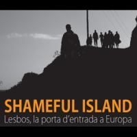 """""""Shameful island: Lesbos, la porta d'entrada a Europa"""". Exposició al CRAI Biblioteca del Campus de Mundet"""