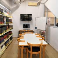 Nova sala de treball en grup i concurs per batejar dues sales de treball al CRAI Biblioteca de Biblioteconomia i Documentació