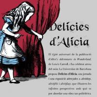 «Delícies d'Alícia» al CRAI Biblioteca de Lletres