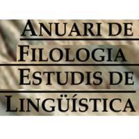 """Publicat el número 6 (2016) de la revista """"Anuari de Filologia. Estudis de Ling"""