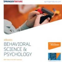 Springer Behavioral Science & Psychology 2016. Nova adquisició de llibres electrònics