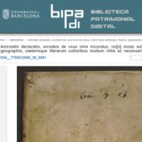 Novetats a la Biblioteca Patrimonial Digital BiPaDi