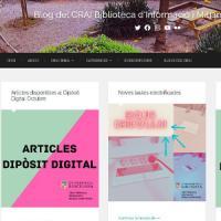 Nou Blog al CRAI : Blog del CRAI Biblioteca d'Informació i Mitjans Audiovisuals