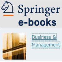Nova col·lecció de llibres electrònics: SpringerLink eBooks Business and Management