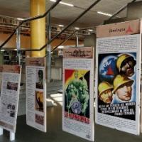 Multilingüisme i les Brigades Internacionals. Exposició al CRAI Biblioteca del Campus de Mundet