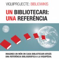 """El CRAI de la Universitat s'adhereix a la campanya """"Un bibliotecari: una referència"""""""