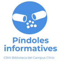 Píndoles informatives destinades a PDI al CRAI Biblioteca del Campus Clínic