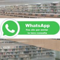 Prova pilot de servei de Whats App al CRAI Biblioteca del Campus de Mundet