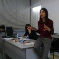 CRAI Bibioteca del Campus Clínic en el seminari del Pràcticum del grau d'IiD
