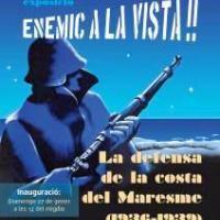 Exposició Enemic a la Vista! La defensa de la costa al Maresme (1936-1939) amb participació del CRAI Biblioteca del Pavelló de la República