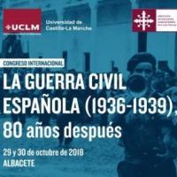Participació del CRAI al Congrés Internacional La Guerra Civil Española (1936-1939), 80 años después