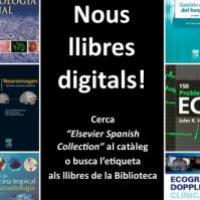 El CRAI Biblioteca del Campus Clínic fomenta l'ús dels llibres electrònics d