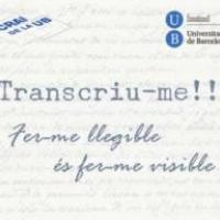 """Finalitzat el primer projecte """"Transcriu-me!!"""" del CRAI UB en un temps rècord"""