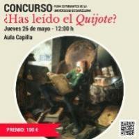 Has llegit el Quixot? Concurs literari