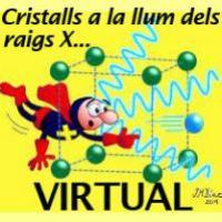"""El CRAI Biblioteca de Física i Química presenta l'accés virtual a l'exposició """"Cristalls a la llum dels raigs X. Cristalls, Difracció, Estructura"""""""