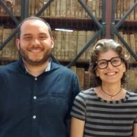 Erasmus+ al CRAI Biblioteca de Reserva: Cristiana Iommi i David Fernández