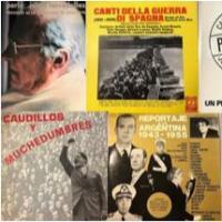 Discs de Vinil. Cançons i discursos polítics. Nova col·lecció del CRAI Biblioteca del Pavelló de la República a la MDC