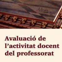 S'obre la convocatòria 2017 d'avaluació de l'activitat docent del professorat amb suport del CRAI