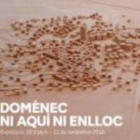 """Exposició al MACBA """"Domènec. Ni aquí ni enlloc"""" amb la participació del CRAI Biblioteca del Pavelló de la República"""