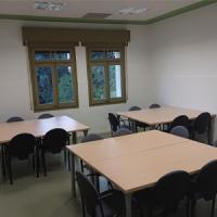 Nova sala de treball en grup al CRAI Biblioteca de Farmàcia i Ciències de l'Alimentació, Campus Torribera