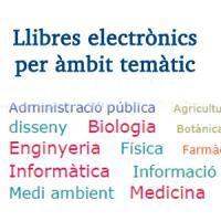 Nou accés als E-Books de la UB per àmbits temàtics a través del Catàleg