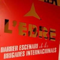 Exposició L'Ebre. Darrer escenari de les Brigades Internacionals, amb la participació del CRAI Biblioteca del Pavelló de la República