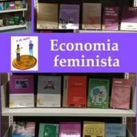 Mostra bibliogràfica sobre Economia Feminista al CRAI Biblioteca d'Economia i Empresa