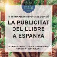 III Jornades d'Història de l'Edició amb la participació del CRAI de la Universitat de Barcelona
