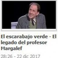 """El llegat del professor Ramon Margalef, torna al programa 'El escarabajo verde"""" de TVE2"""