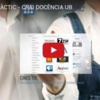 Espai del TÀCTIC del CRAI: nou vídeo del TÀCTIC