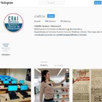 Nou compte d'Instagram al CRAI de la UB: @craifcca