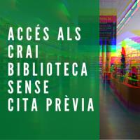 Els CRAI Biblioteques de la UB obren sense límit d'aforament ni cita prèvia