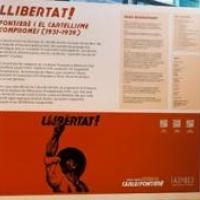 Exposició Llibertat! Fontserè i el cartellisme compromès (1931-1939) amb la participació del CRAI Biblioteca del Pavelló de la República
