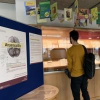 Nova exposició al CRAI Biblioteca del Campus Bellvitge: #noemratllis: no soc teu, soc de tothom