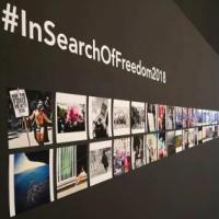 """xposició """"Cercant la llibertat"""" al Castell de Montjuic, amb la col·laboració del CRAI Biblioteca del Pavelló de la República"""