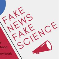 Fake news, fake science. Exposició virtual al CRAI Biblioteca d'Informació i Mitjans Audiovisuals