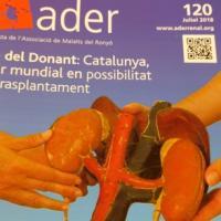 Col·laboració del CRAI Biblioteca del Campus Clínic amb la revista ADER