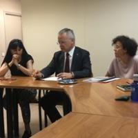 El CRAI rep la visita del rector i de la vicerectora de Docència