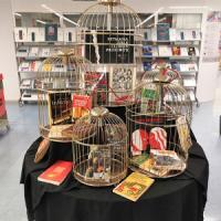 Setmana dels llibres prohibits al CRAI Biblioteca d'Informació i Mitjans Audiovisuals